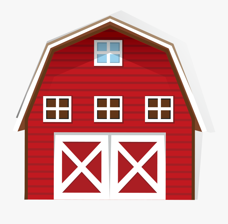 Transparent Farm Clipart - Farm House Clip Art, Transparent Clipart
