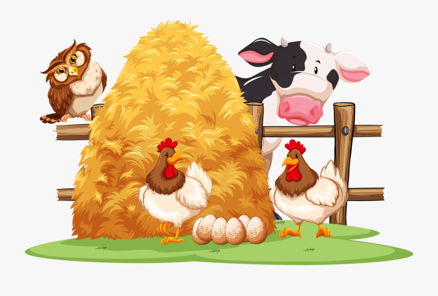 Фотки Cow Png, Farm Animals, Clipart, Birds, Cartoon, - Animals Farm Cartoon Png, Transparent Clipart