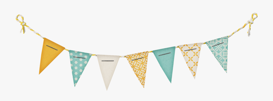 Party Banner Png- - Transparent Of Birthday Banner, Transparent Clipart