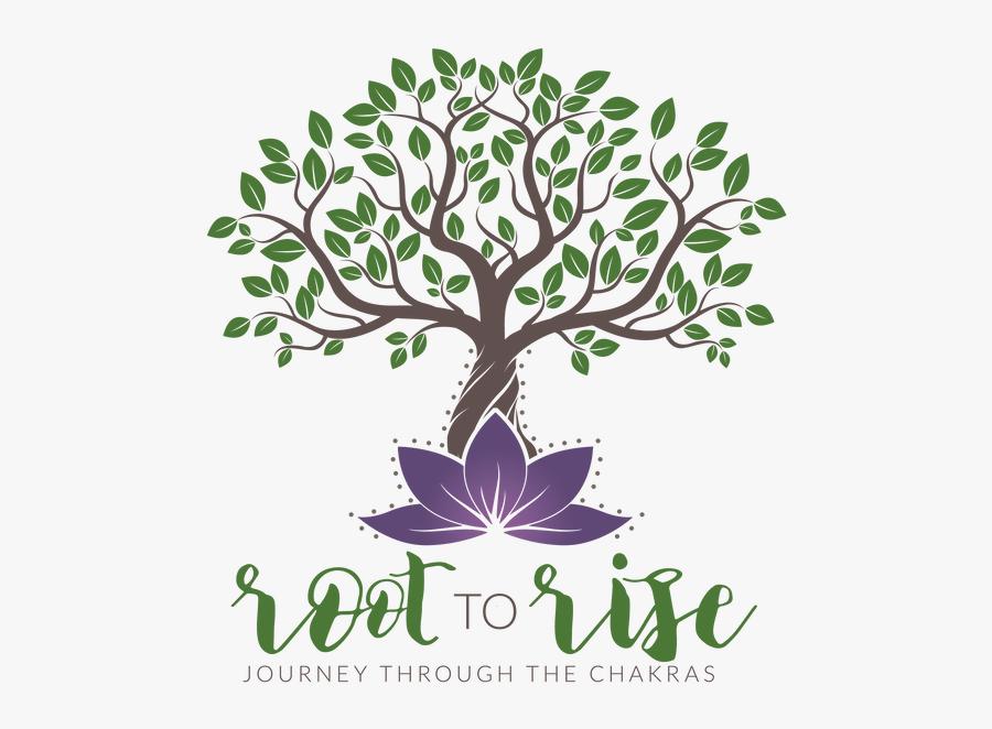 Roots Clipart Yoga Tree Pose - Illustration, Transparent Clipart