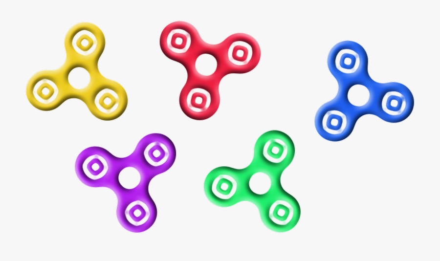 Fidget Spinners Toy Free Picture - Fidget Spinner Free Clipart, Transparent Clipart