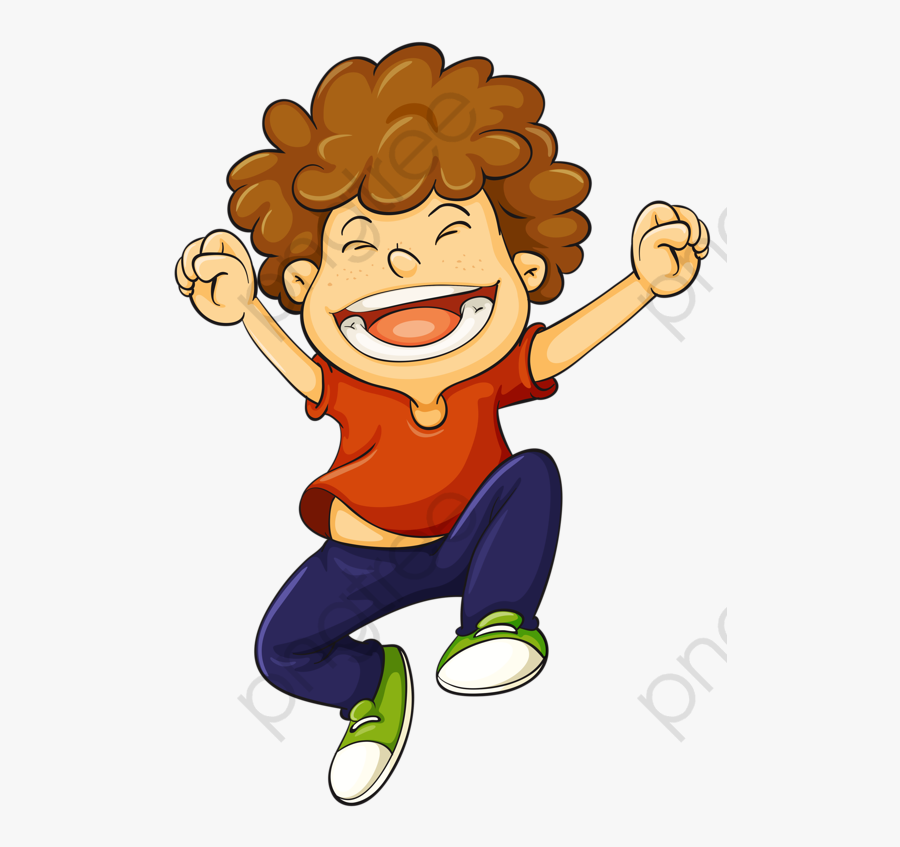 Boy Curly Hair Clipart - Curly Hair Boy Clipart, Transparent Clipart
