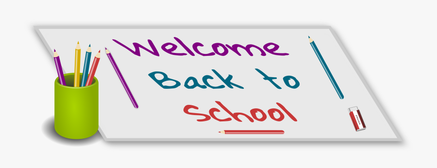 This Free Icons Png Design Of Welcome Back To School - Free Clip Art Welcome Back To School, Transparent Clipart