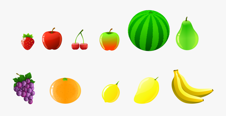 Accessory Fruit,vegetarian Food,commodity - Buah Buahan Png, Transparent Clipart
