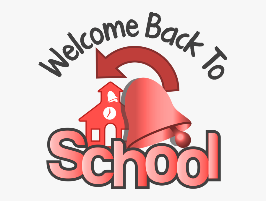 Welcome Back To School - Poster, Transparent Clipart