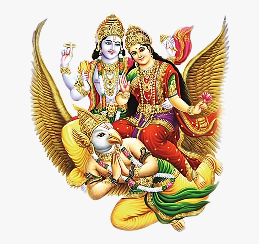 Lord Durga Png Free Download - Lord Vishnu Image Download, Transparent Clipart