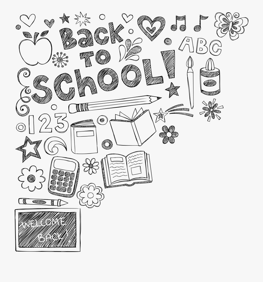 School Clipart Drawing, Transparent Clipart