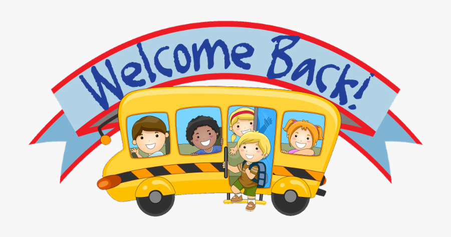 Welcome Back To School Sign - Animated Welcome Back To School, Transparent Clipart