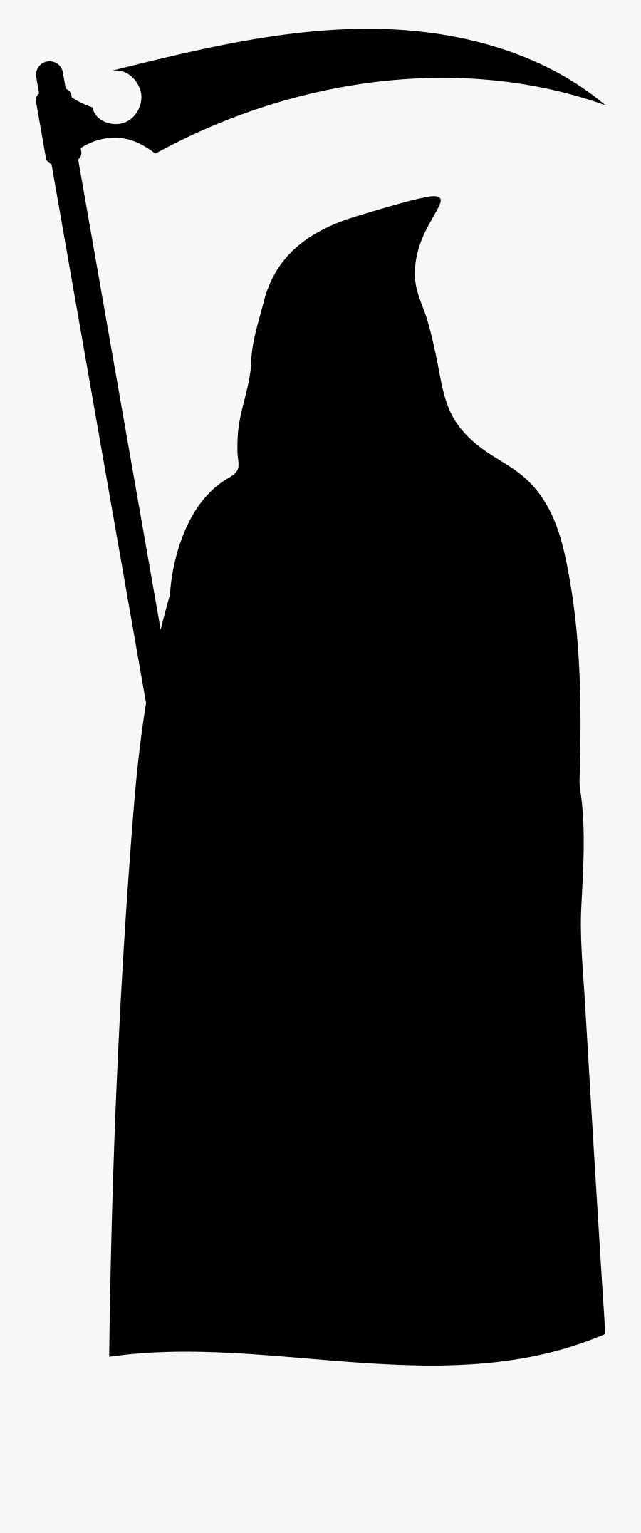 Grim Reaper Silhouette Png Clip Art Imageu200b Gallery - Grim Reaper Silhouette Png, Transparent Clipart