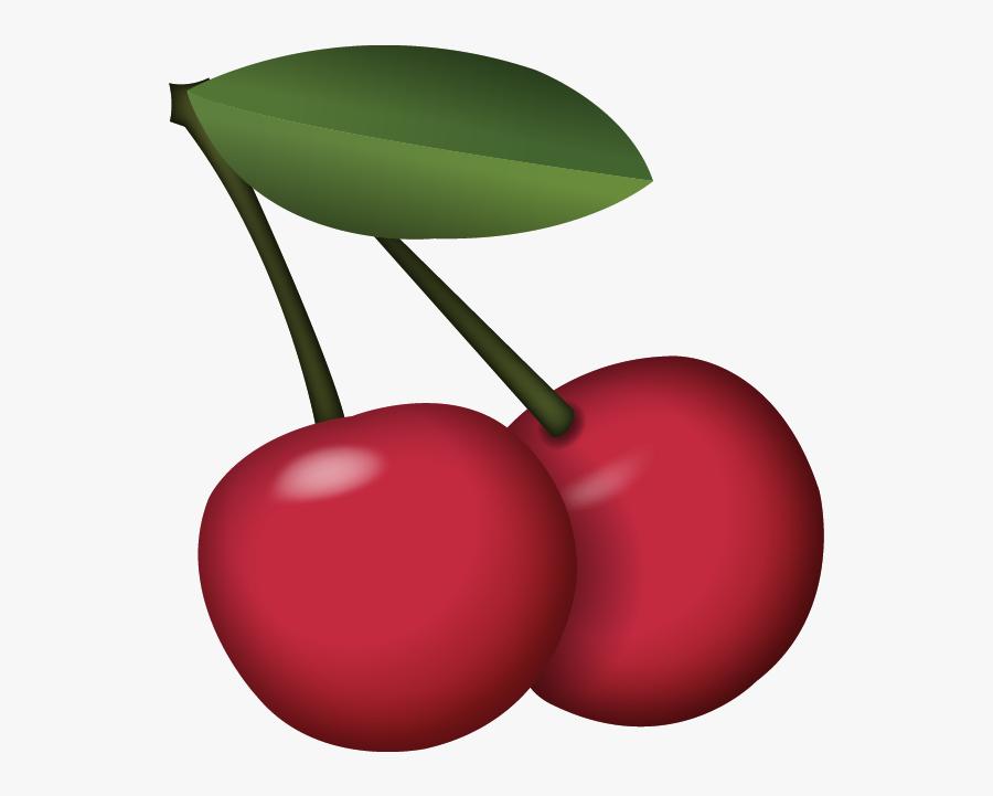 Png Pictures Trzcacak Rs - Cherry Emoji Png, Transparent Clipart