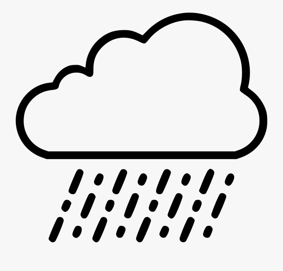 Rain Cloud Drawing At Getdrawings - Cloud With Rain Drawing, Transparent Clipart