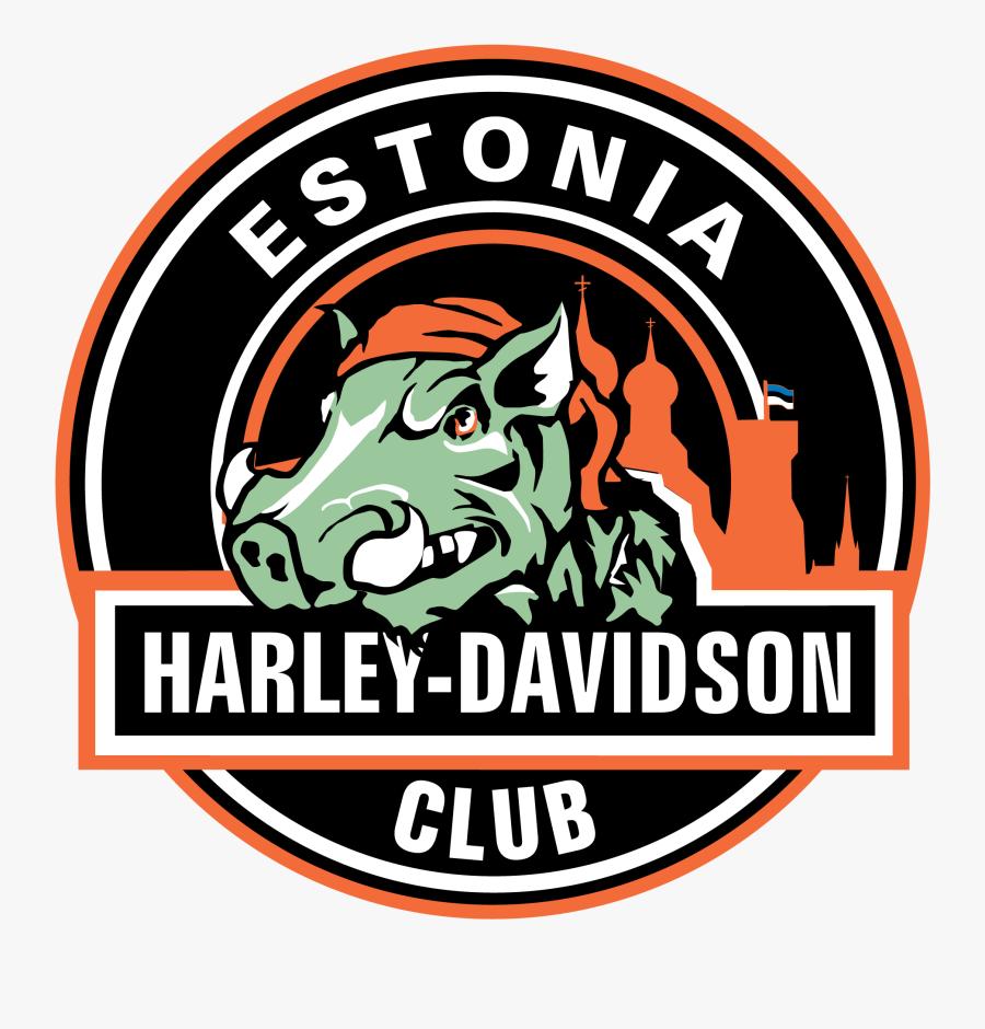 Harley Davidson Club Estonia Estonian Harley Davidson - Harley Davidson Club Estonia, Transparent Clipart