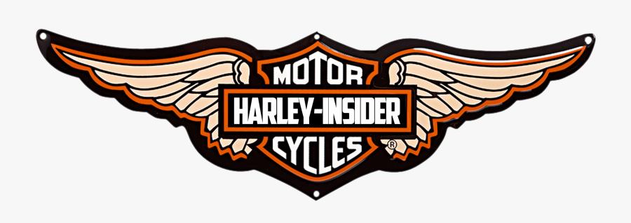 Harley Davidson Logos Free - Motorcycle Harley Davidson Logo, Transparent Clipart