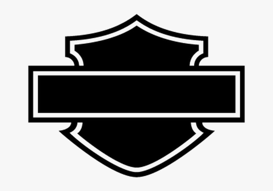 Harley Davidson Logo Silhouette At Getdrawings - Harley Davidson Logo Blank, Transparent Clipart