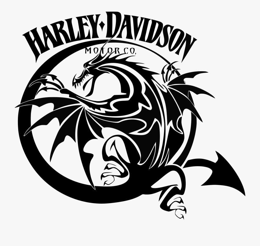 Pin By Bruce Jackson On Harley Decals Airbrush Gas - Harley Davidson Tribal Tattoo, Transparent Clipart