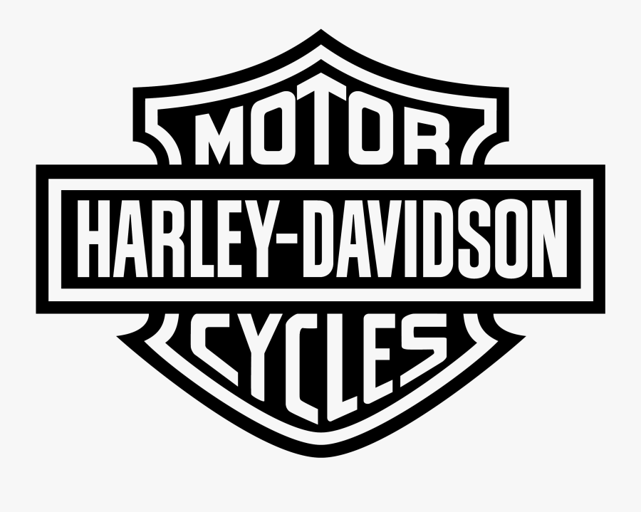 Elegant Emblems Motorcycles Logo - Motor Harley Davidson Logo, Transparent Clipart
