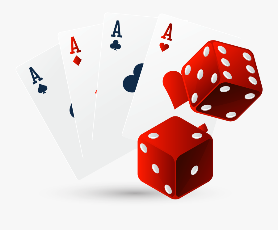 Dice Playing Card Game Ace - Ace Card, Transparent Clipart
