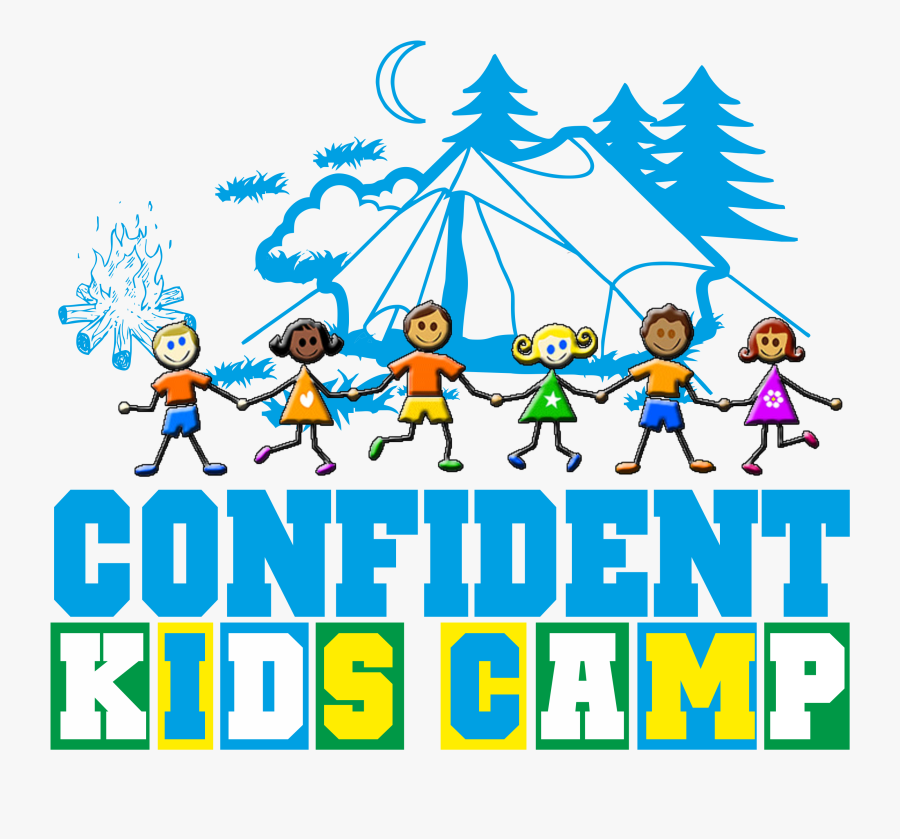 Camp Kids, Transparent Clipart