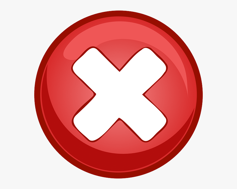 Red Cross In Circle, Transparent Clipart