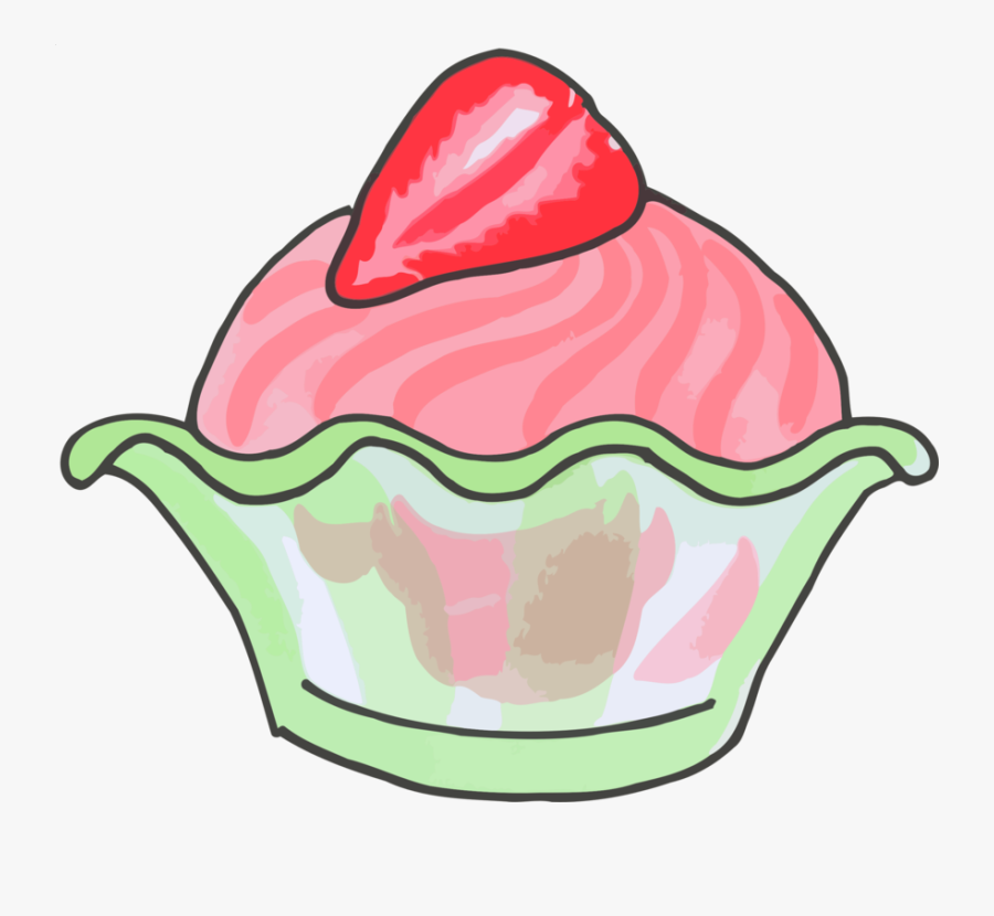 Clip Art,frozen Cup - Ice Cream Cone, Transparent Clipart