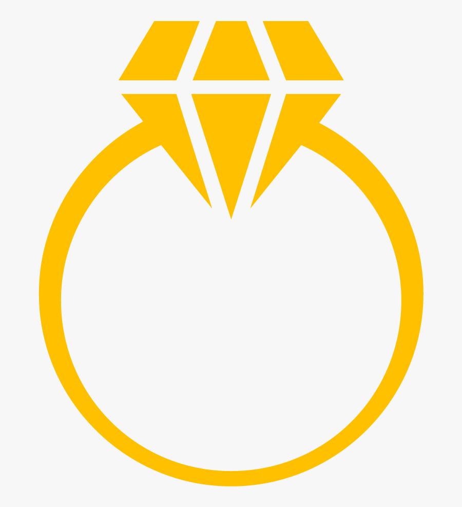 Engagement Ring Diamond Clip Art - Diamond Ring Clipart, Transparent Clipart