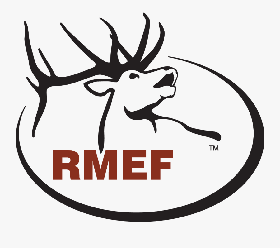 Rocky Mountain Elk Foundation Logo, Transparent Clipart