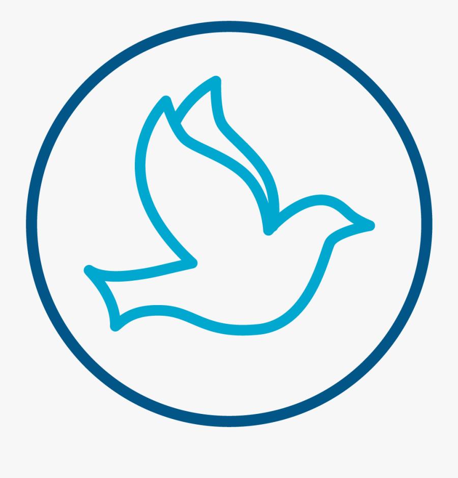 Transparent Dove Png Images - God The Holy Spirit Symbol, Transparent Clipart