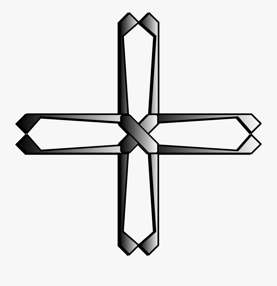 Angle,symmetry,symbol - Cross Symbols Of The Holy Spirit, Transparent Clipart