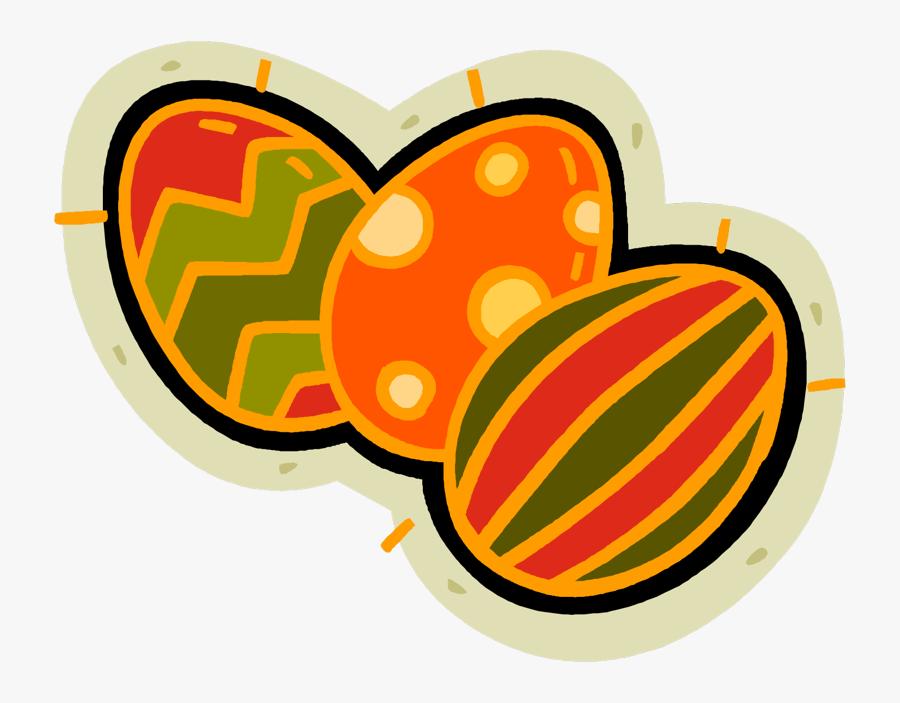Easter Eggs, Transparent Clipart