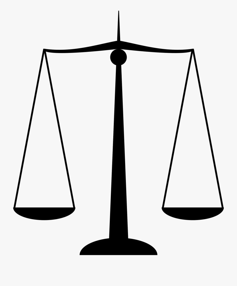 Clip Art File Scales Svg Wikipedia - Scale Of Justice Gif, Transparent Clipart