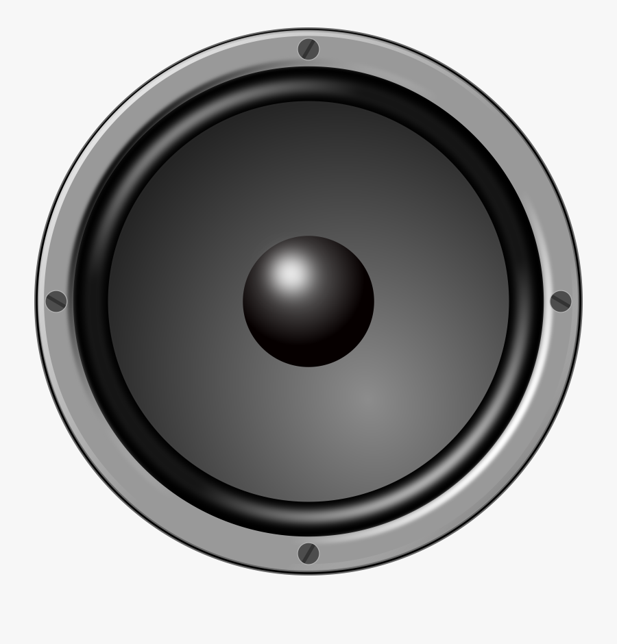 Circle Speaker Png, Transparent Clipart
