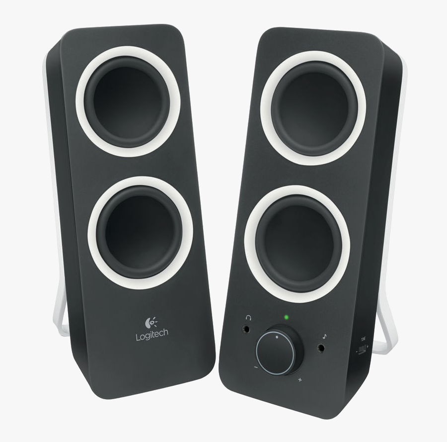 Multimedia Speaker Download Image Free Clipart Hd - Logitech Pc Speakers, Transparent Clipart