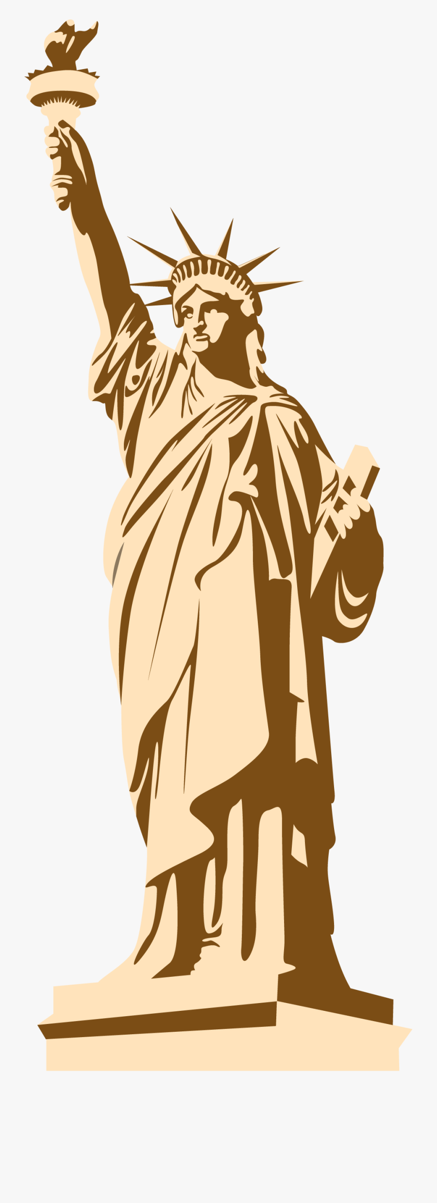 Statue Of Liberty Clipart Png - Png Statue Of Liberty ...
