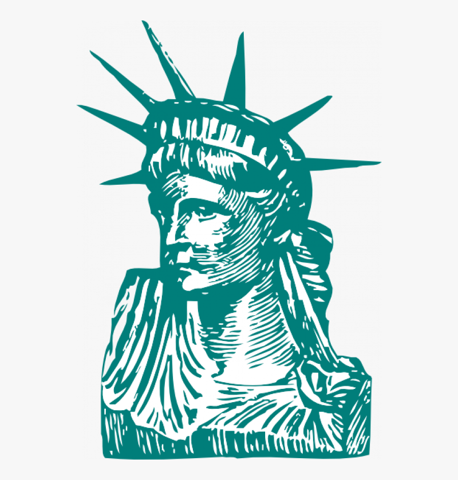 Cartoon Statue Of Liberty Clipart Images Transparent ...