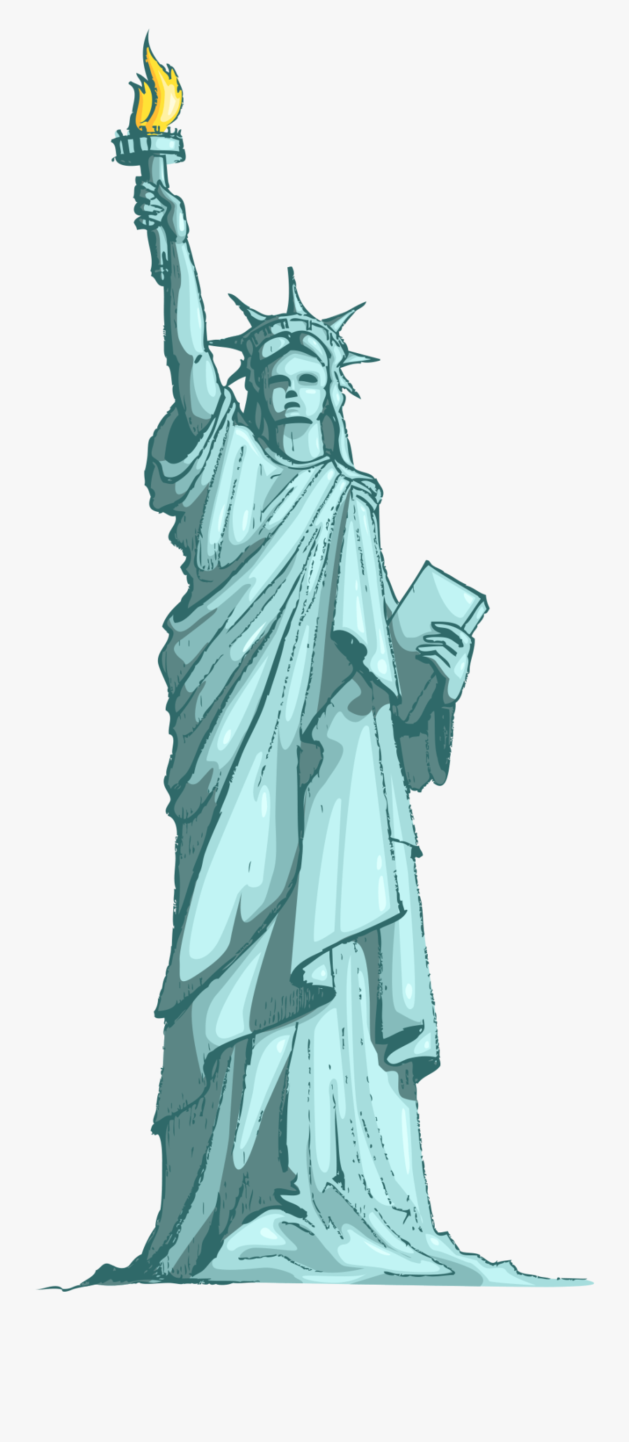 Statue Of Liberty Clipart Png , Free Transparent Clipart ...
