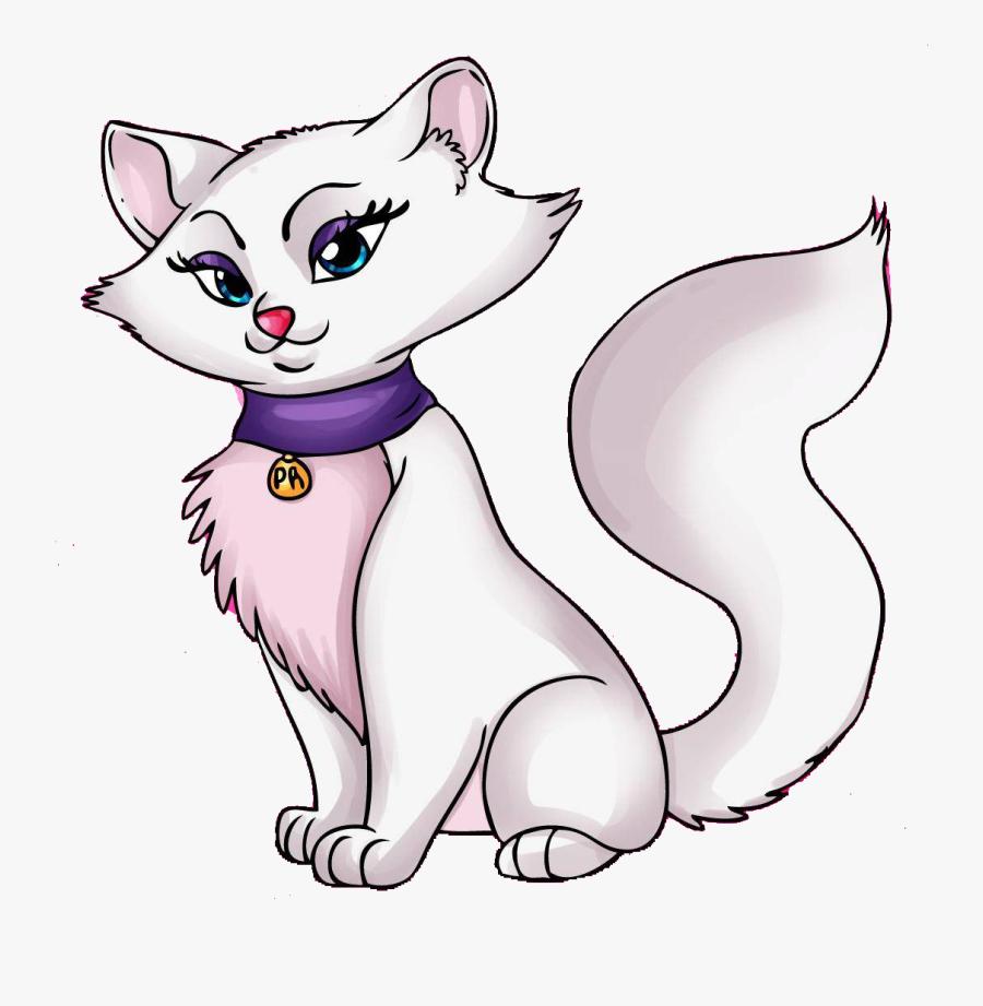 Clip Art Cat Vector Black White - Cartoon Cats Png, Transparent Clipart
