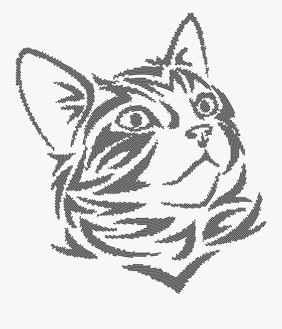 tribal kitten dots clip arts kucing vektor free transparent clipart clipartkey tribal kitten dots clip arts kucing
