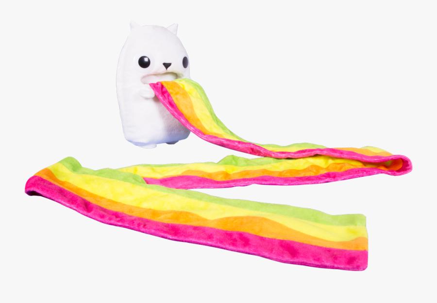 Exploding Kittens Rainbow Ralphing Cat, Transparent Clipart