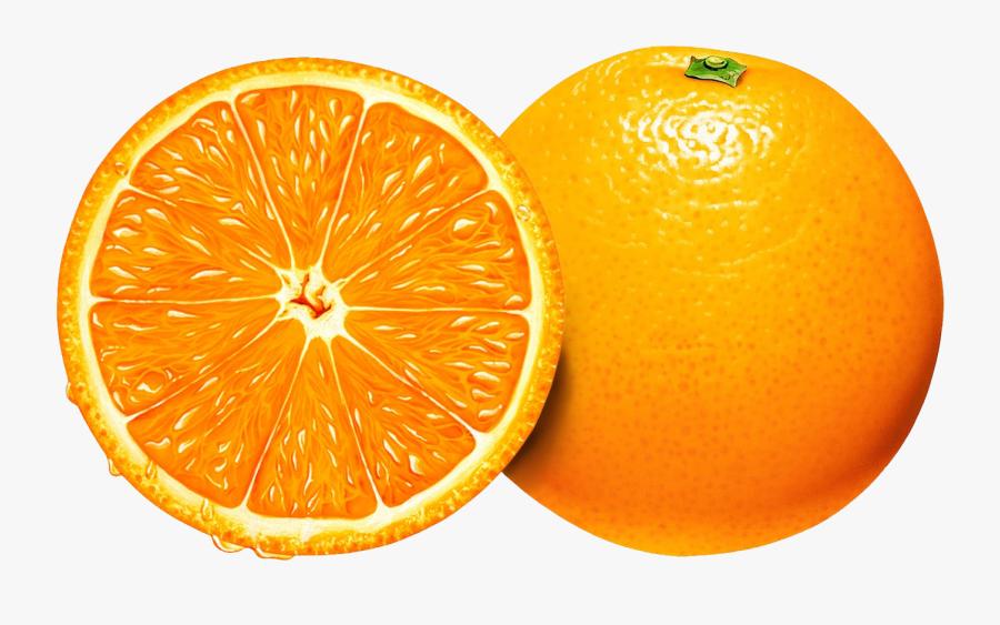 Orange Slice Vector Png, Transparent Clipart