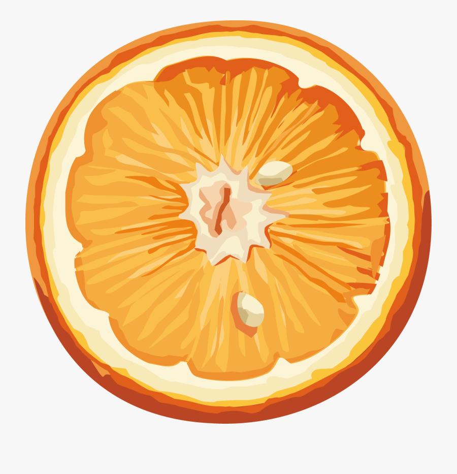 Апельсин Рисунок На Прозрачном Фоне, Transparent Clipart