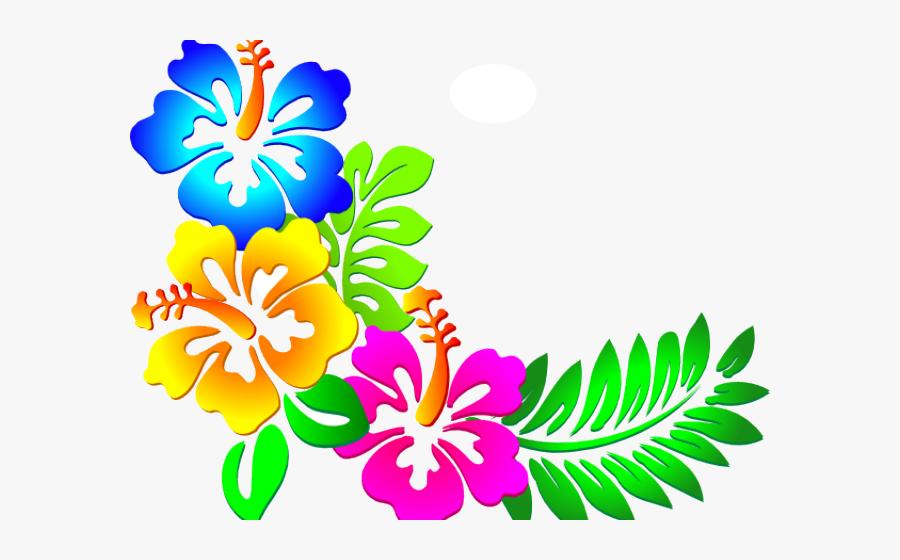 Flower Border Clipart - Corner Flower Border Designs Png, Transparent Clipart