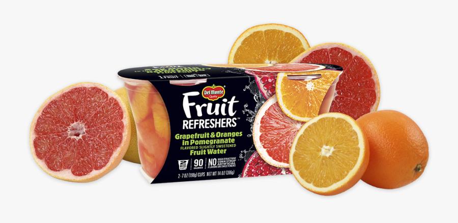 Transparent Pomegranate Clipart - Del Monte Fruit Refreshers, Transparent Clipart
