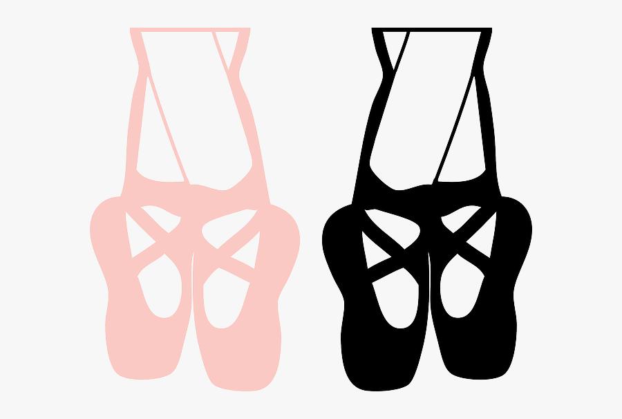 Tap Dance Ballet Dancer Ballet Shoe Clip Art - Ballet Shoes Clipart, Transparent Clipart