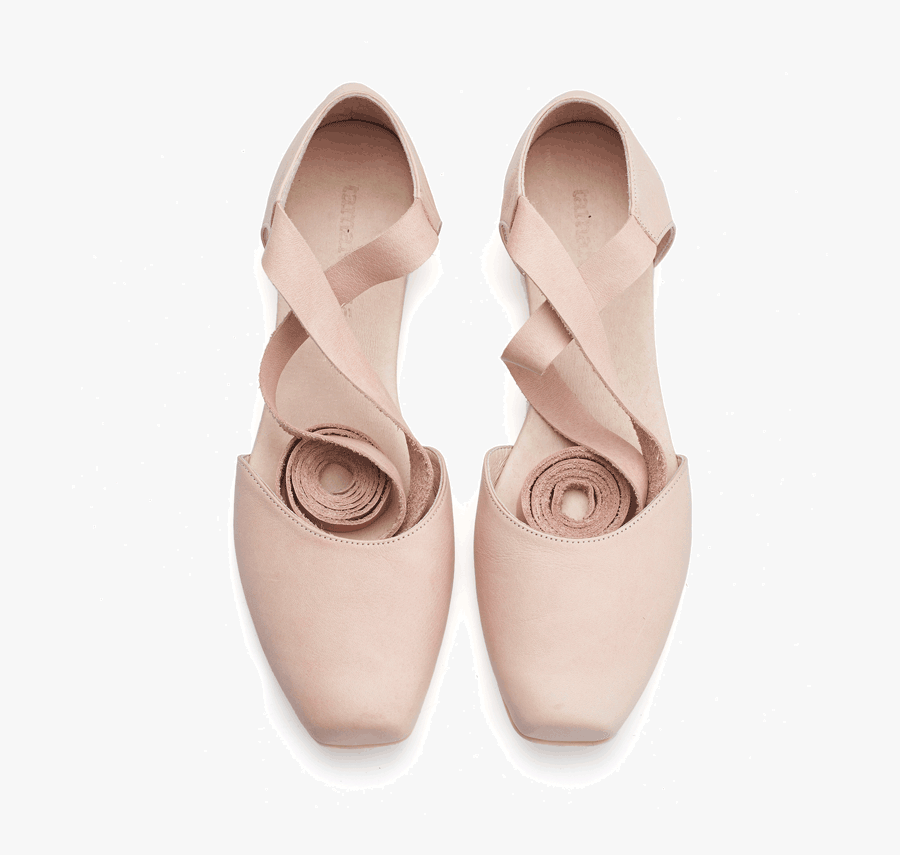 Clip Art The Beautiful For Lady - Ballerina Shoes, Transparent Clipart