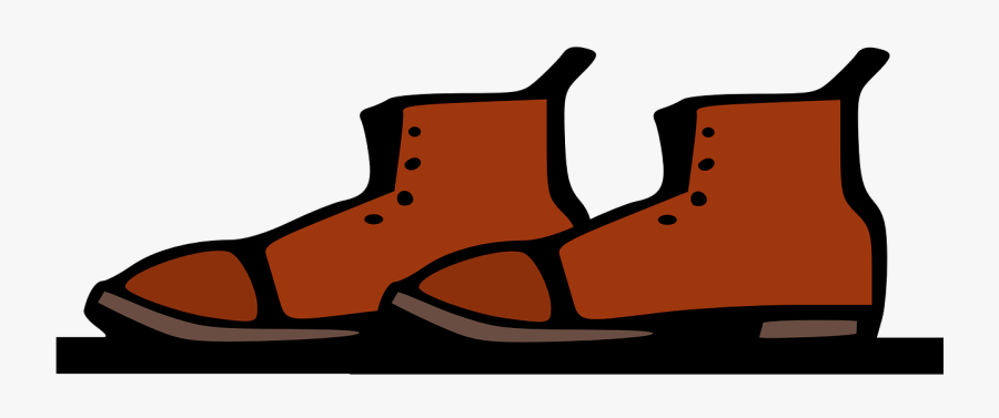 Shoes Leather Footwear Accessory Png Image - Leather Clip Art Shoes, Transparent Clipart