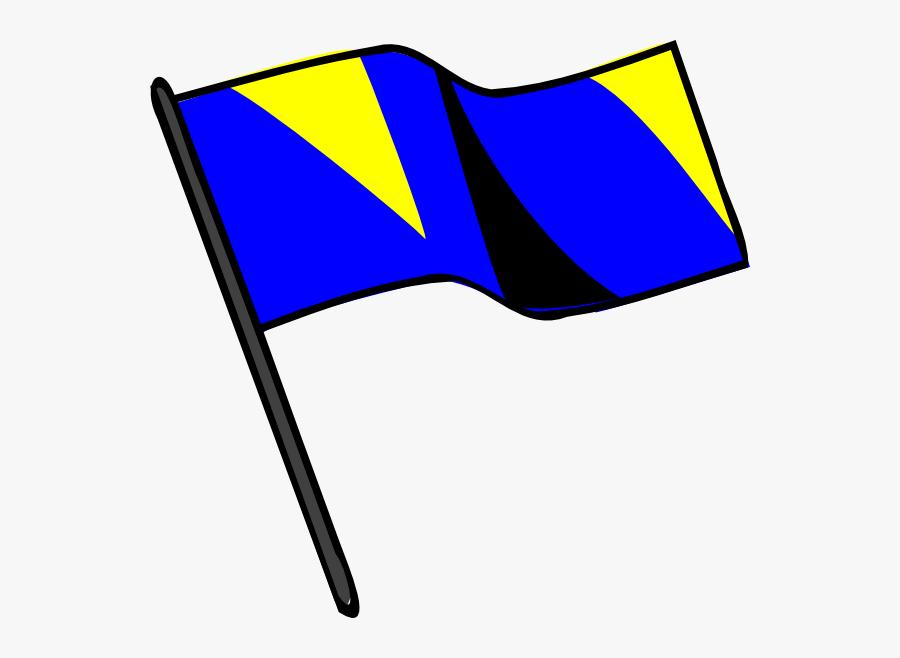 Color Guard Flag Png, Transparent Clipart
