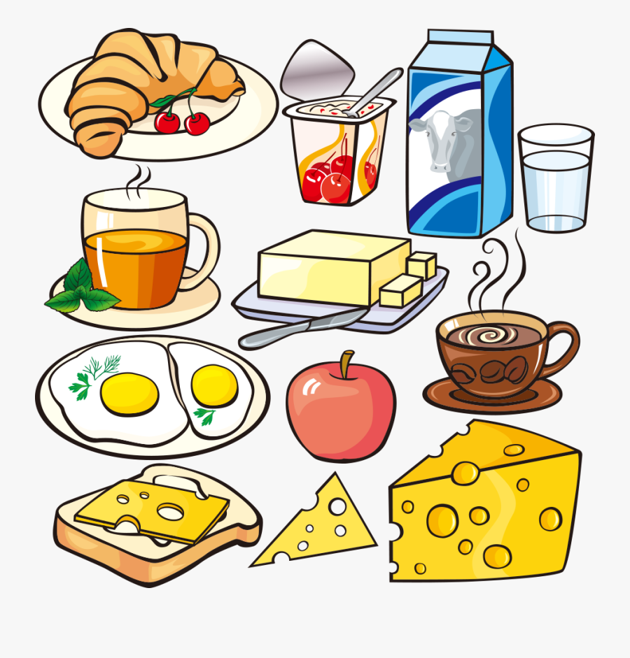 Brunch Clipart Kid Breakfast Free For Download On Rpelm - Food For Breakfast Clip Art, Transparent Clipart