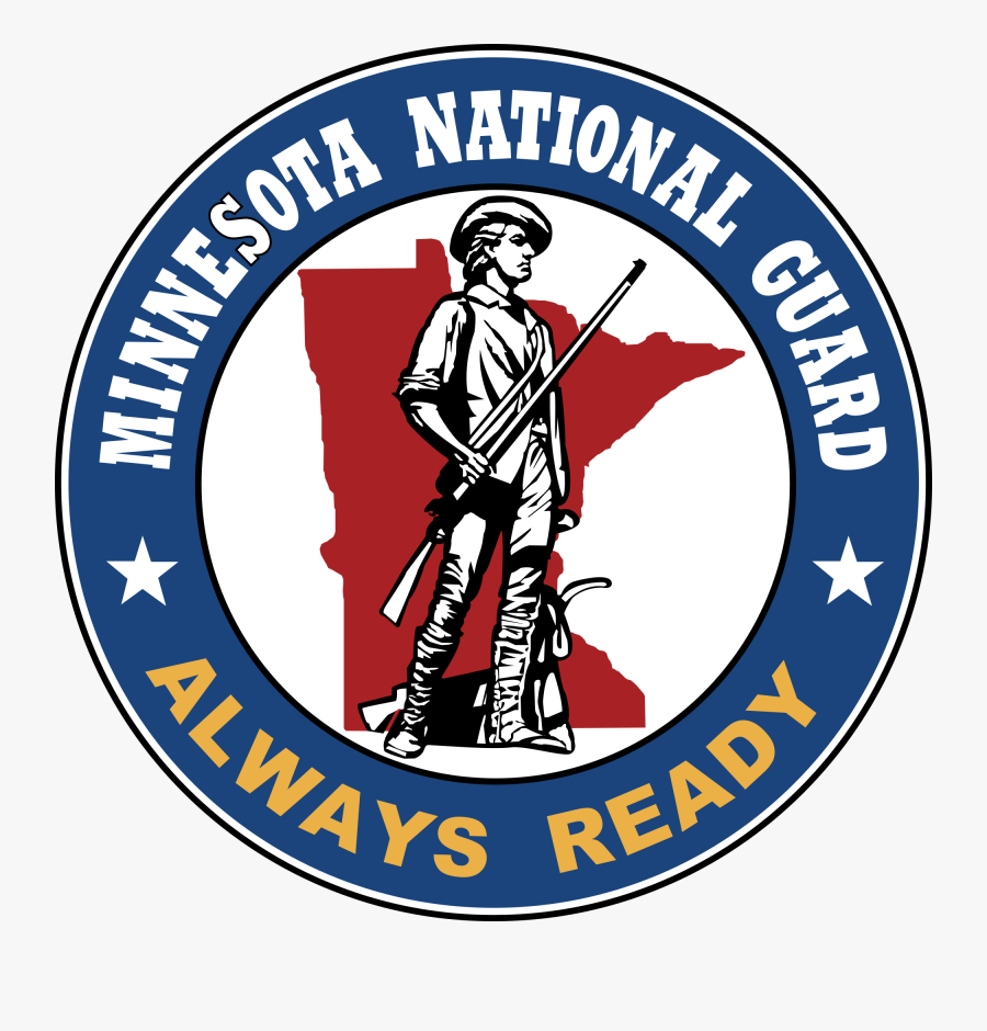 Minnesota National Guard - Mn National Guard Logo, Transparent Clipart
