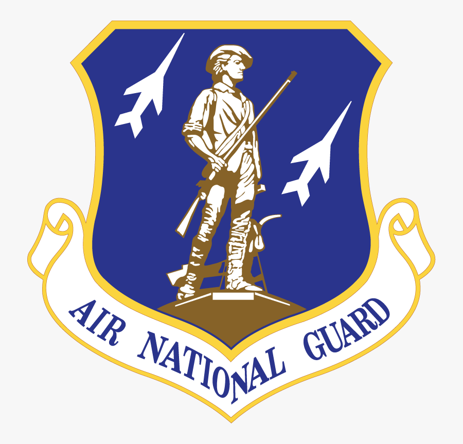 Air Force National Guard Logo, Transparent Clipart