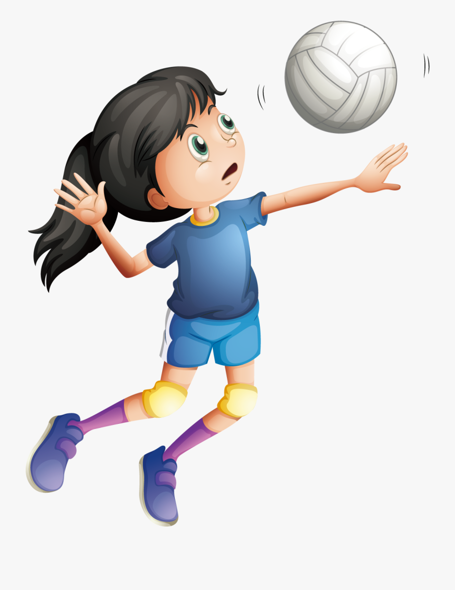 Volleyball Spike Illustrations, Royalty-Free Vector ... |Volleyball Game Clipart